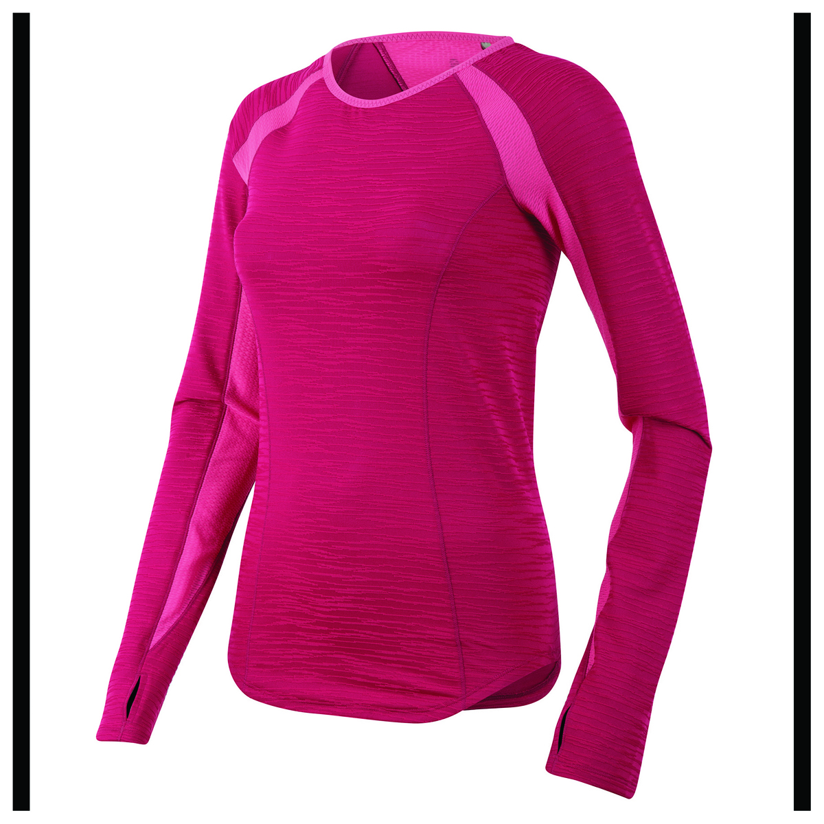 Pearl Izumi - Koszulka Bieg Dam D/R Flash Kolor czerwono-różowy M