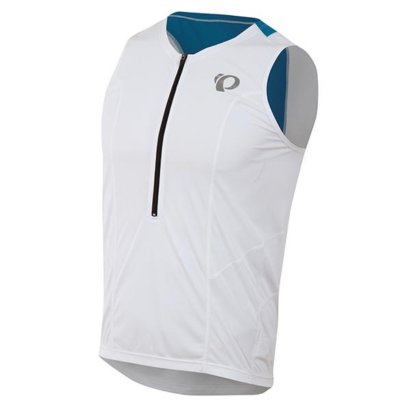 Pearl Izumi Koszulka TRI Select Relaxed kolor biało-niebieski XL