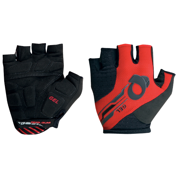 Pearl Izumi rękawiczki Elite Gel True Red/Black M