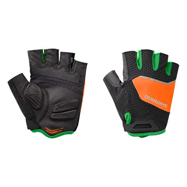 Shimano Rękawiczki letnie Explorer kolor czarny/pomarańczowy M