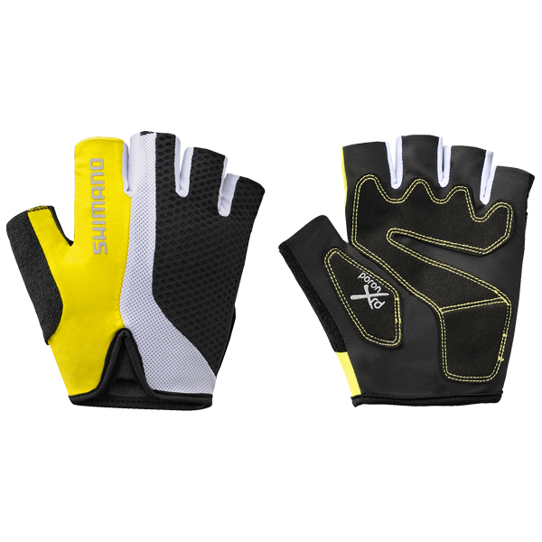 Shimano Rękawiczki letnie Touring żółte XXL