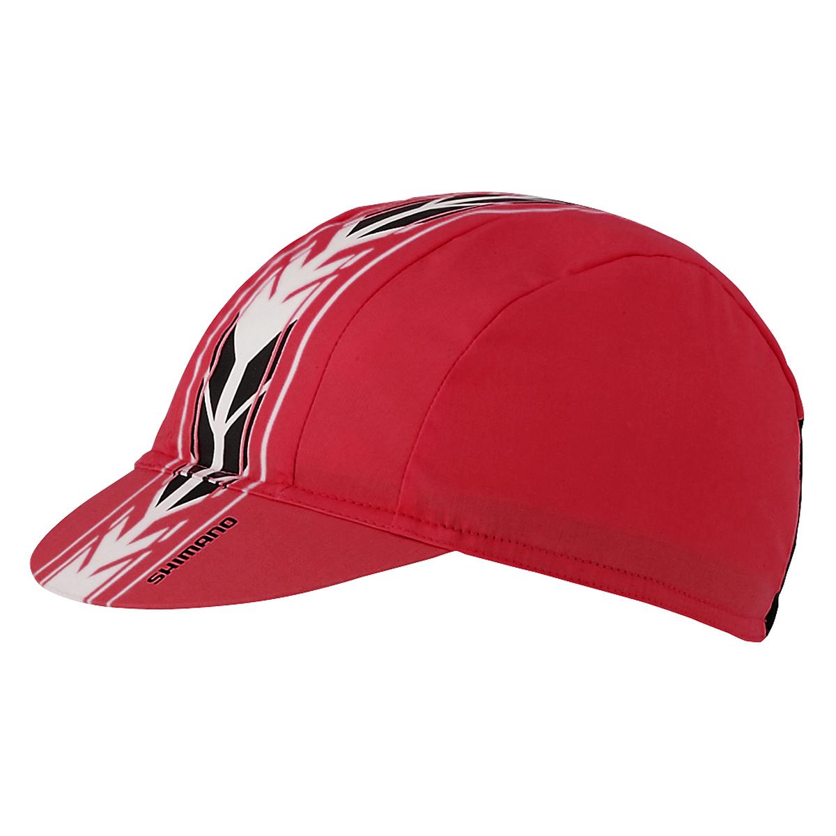 Shimano Czapka kolarska Racing kolor czerwony one size