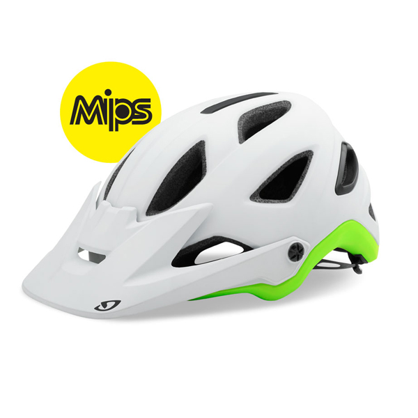 Giro Kask Montaro MIPS Matte biały + limonka M