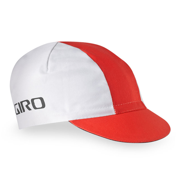 Giro Czapka pod kask CLASSIC COTTON White - Red one size