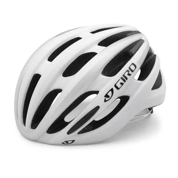 Giro Kask Foray Matte biało-srebrny S