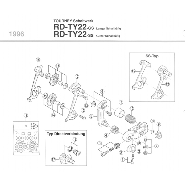 Shimano Adapter do wszystkich RDTY mocowanie na śrubę