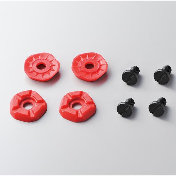 Shimano Kolce kołki wymienne do butów mtb czerwone