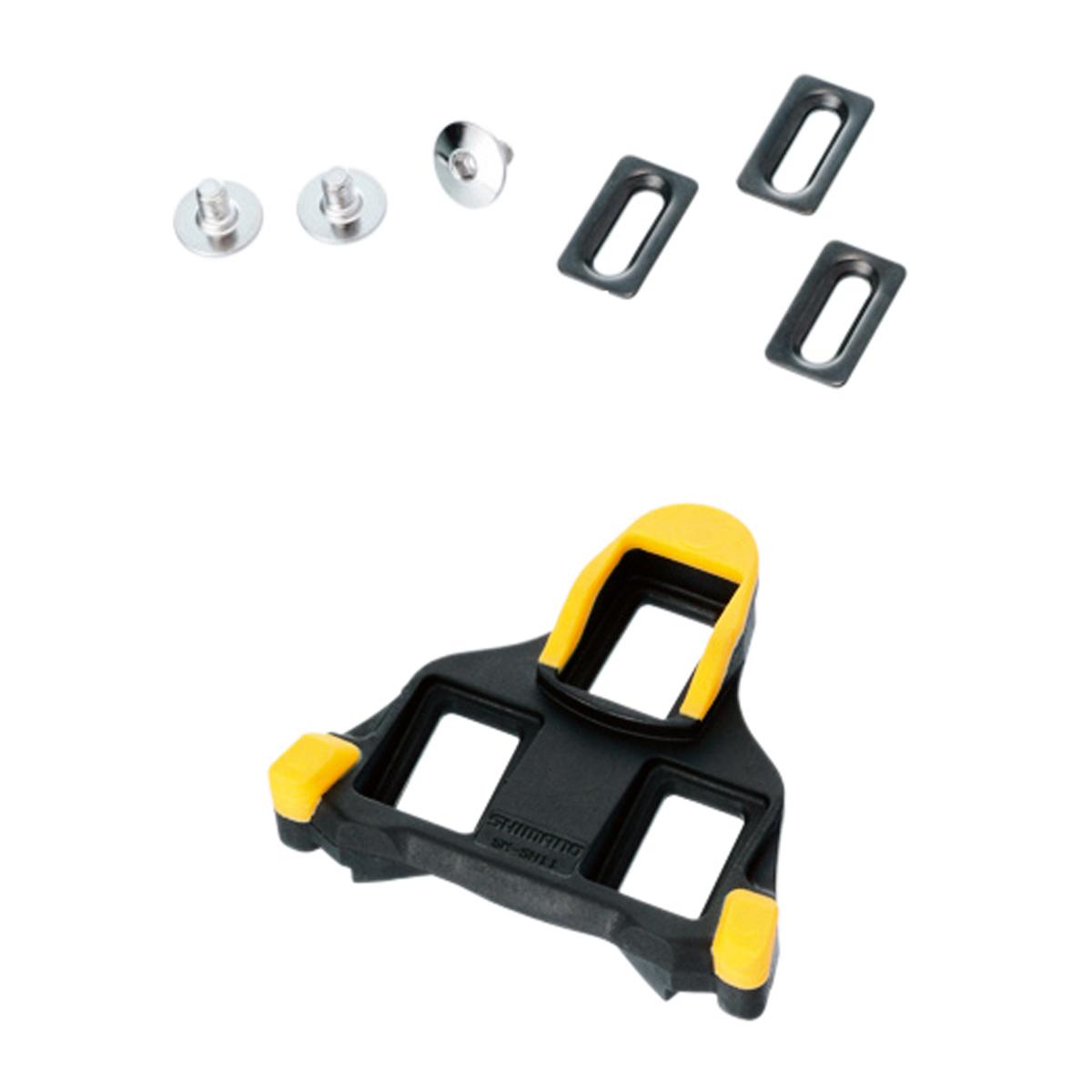 Shimano Bloki pedałów SM-SH11 SPD-SL Szosa, samoregulujace, żółte