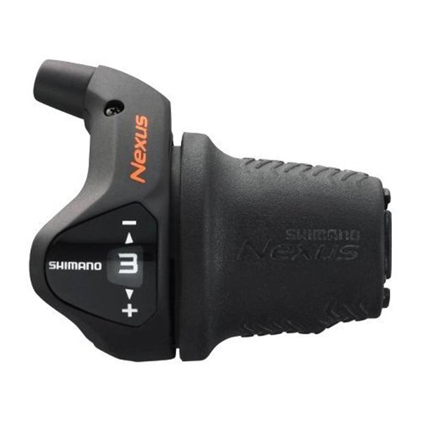 Shimano Manette Revoshift 3v Noir SL-3S41 Cable 2000mm Nexus
