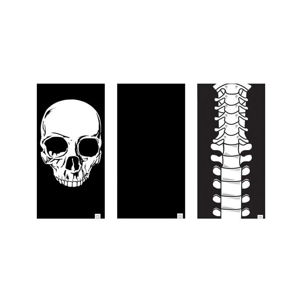 Oxc OXC Tour De Cou Comfy Squelette Lot De 3