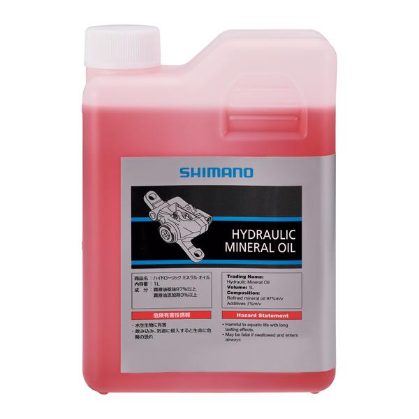 Shimano Huile Minerale Pour Frein Disc Bidon 1L Réservé A Usage Pro