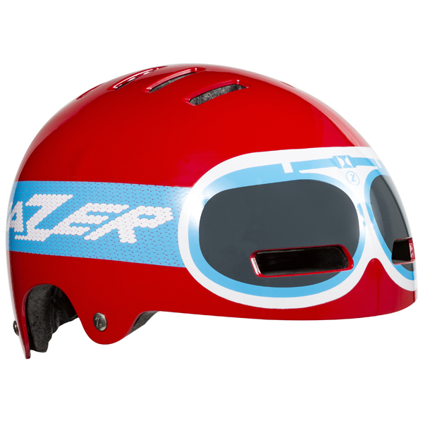 Lazer  Casque Street JR Goggle Rouge