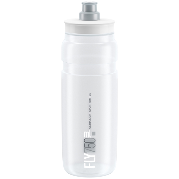 Elite  Bidon FLY Clear Logo Gris 750 ml