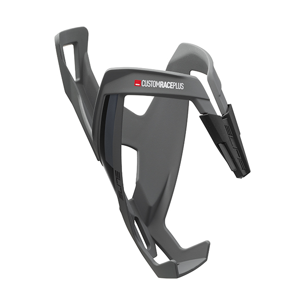 Elite  Bottle Cage Custom Race+ Plus Skin. Gris Soft Touch