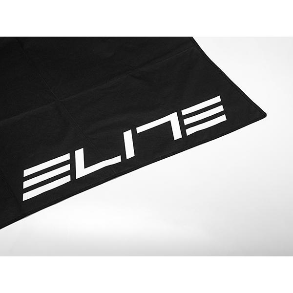 Elite  tapis pliable noir. logo blanc