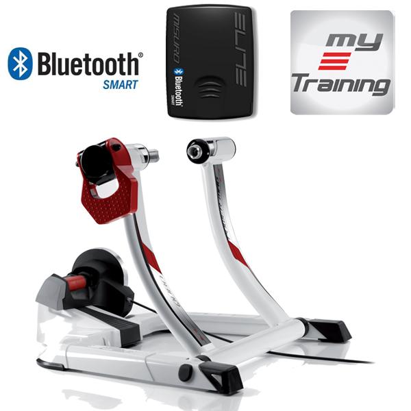hometrainer Qubo Power Mag Smart hometrainer magnétique blanc